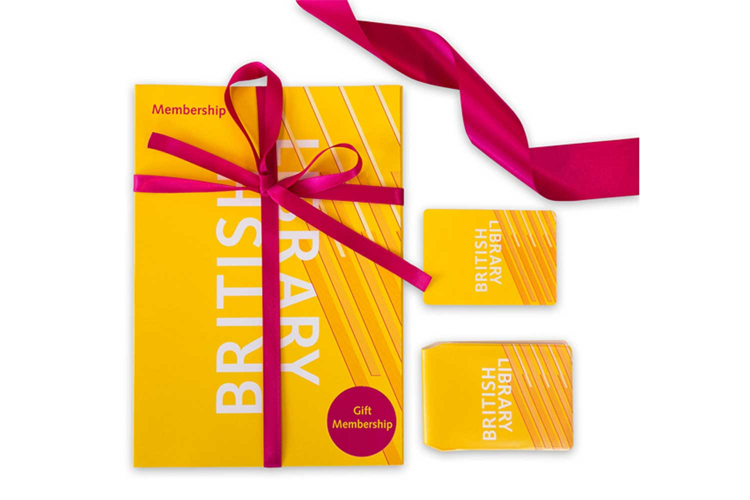 British-Library-Membership-Card-and-Pack, Best Experience Day Gifts