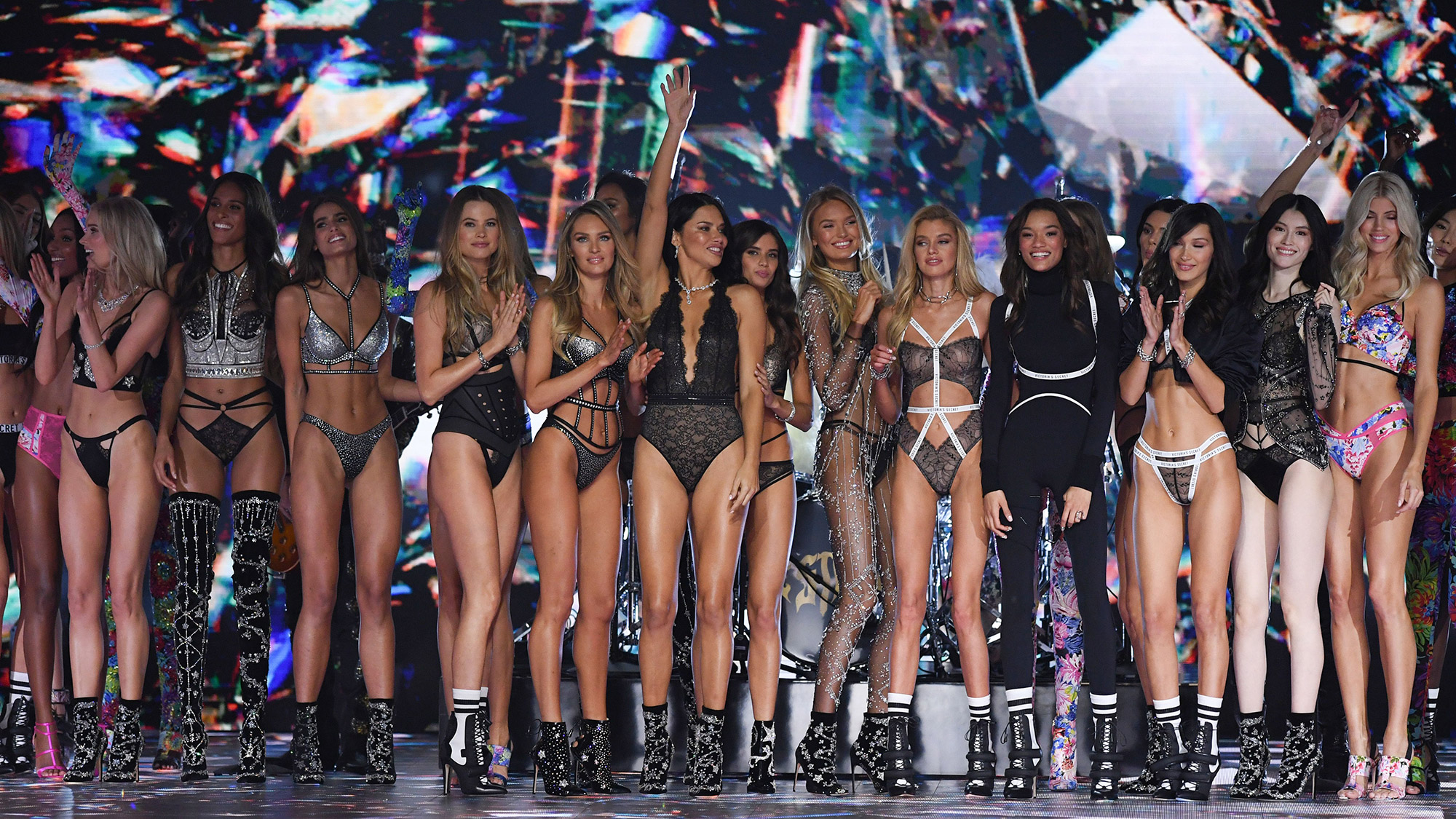 This is what actually happens at a Victoria's Secret show
