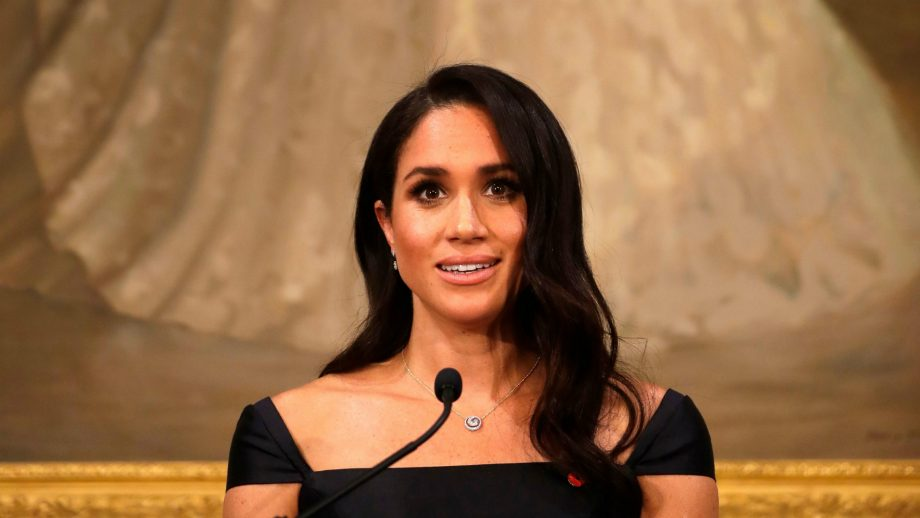 This is Meghan Markle's one self conscious gesture