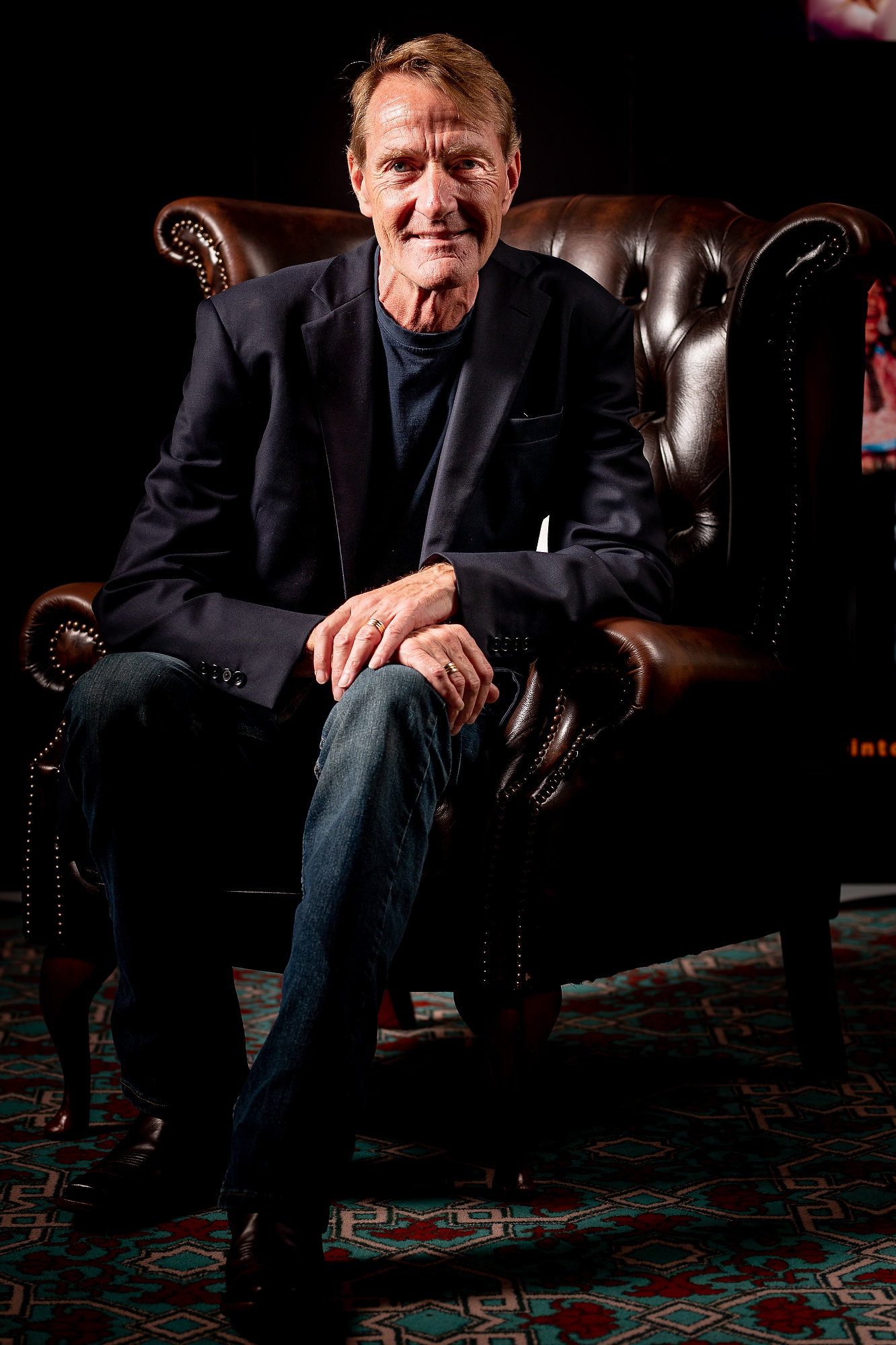 Jack Reacher author Lee Child on why he never plots his