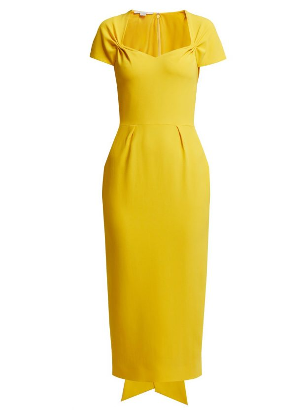 Buy Amal Clooneys Yellow Stella Mccartney Dress From Troyal Wedding