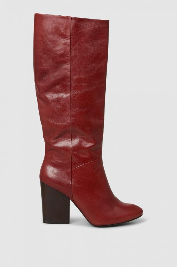 f65454bf899 RACHEL COMEY Zim Knee-High Leather Boots, £325 at The Modist