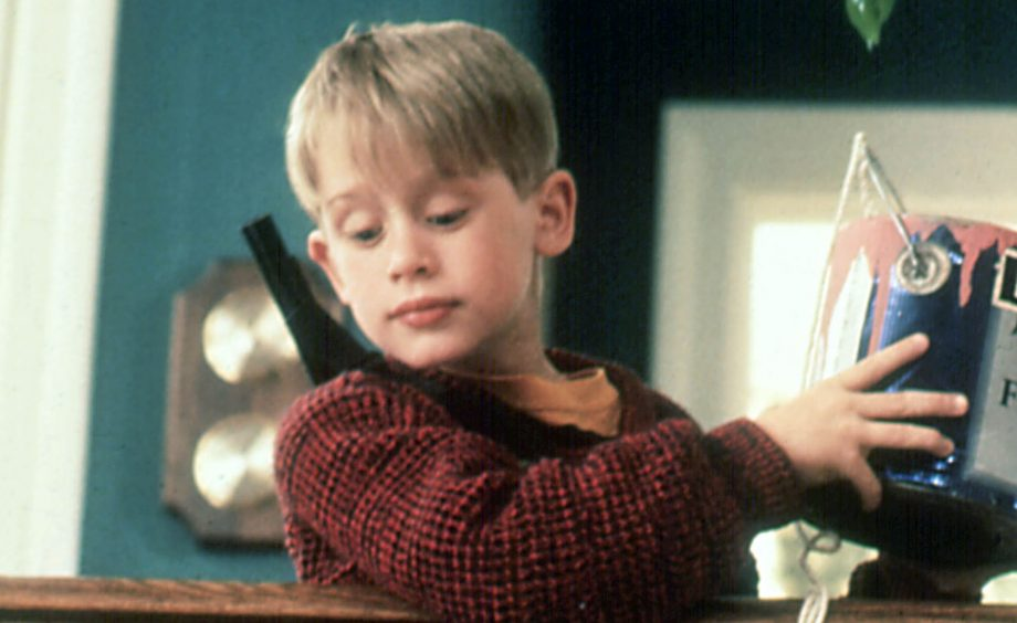 home alone advert