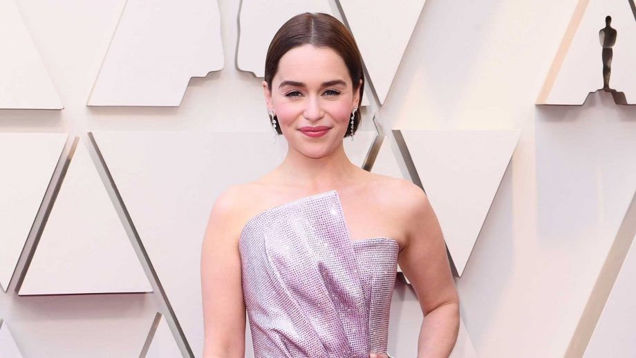 Emilia Clarke just opened up about her hilarious encounter with Brad Pitt