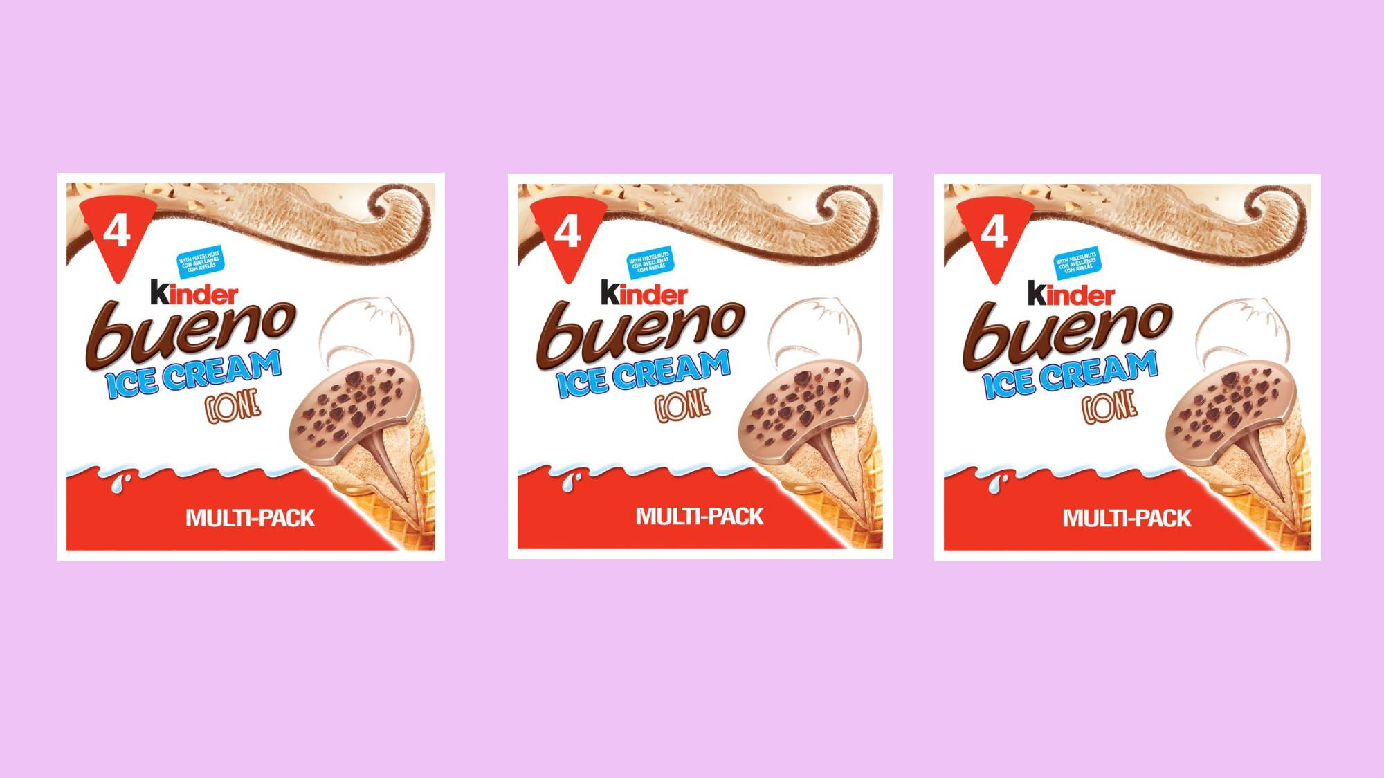 Kinder Bueno ice creams have landed in the UK