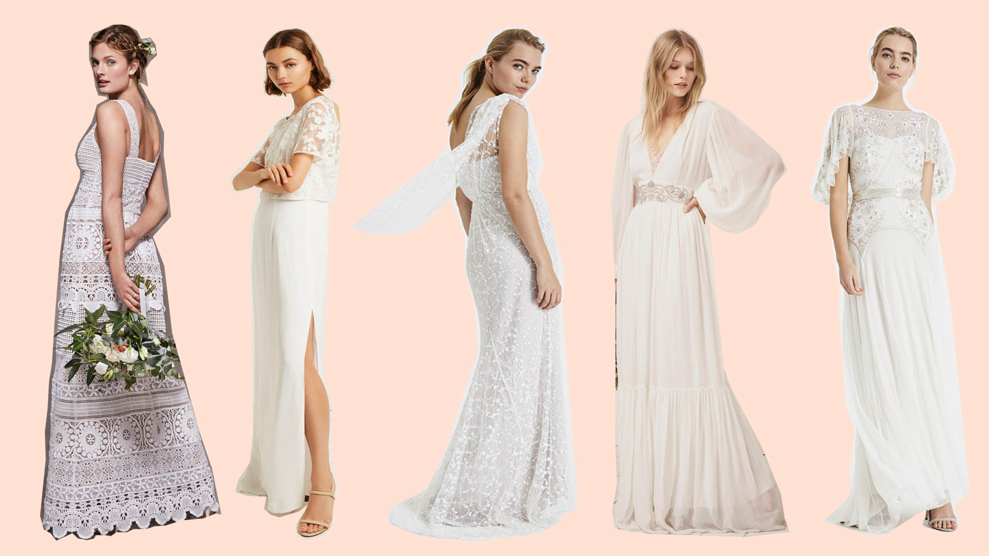c31821c228 The Best High Street Wedding Dresses In Your Favourite Stores Right Now