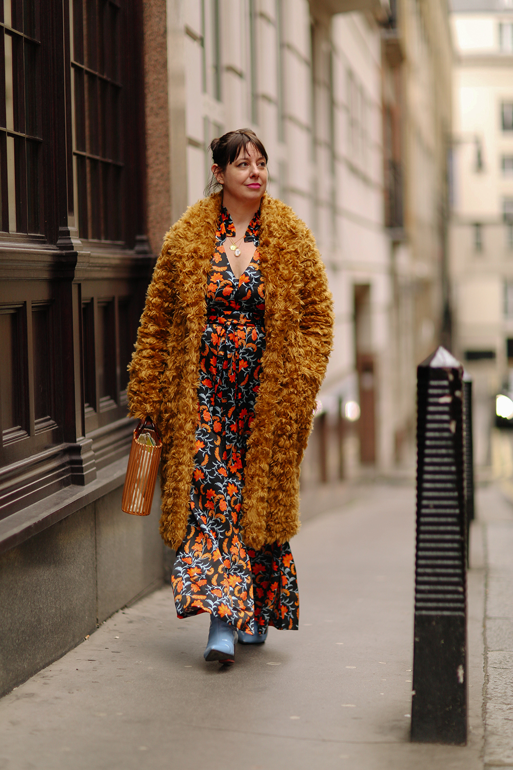 810edaa11b 'My favourite tricks were to go up a size in non-maternity clothes – and  stretchy tube skirts! I bought lots of loose printed boho dresses from River  Island ...
