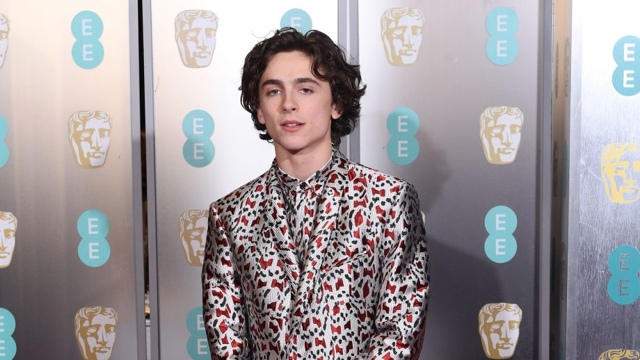 The internet is all over Timothée Chalamet's suit and so are we TBH