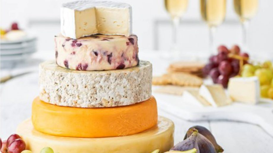 Tesco is now selling a five-tiered cheese wedding cake for £30