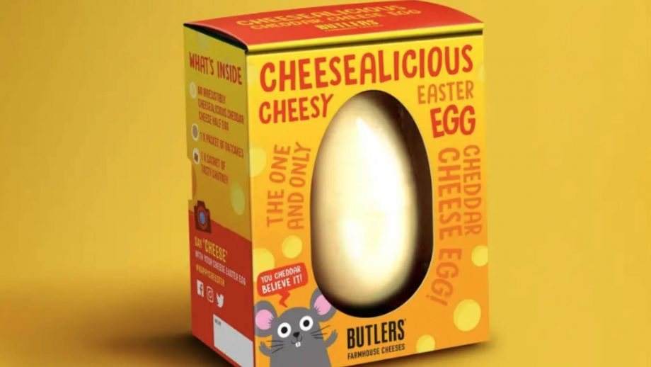 cheese easter egg