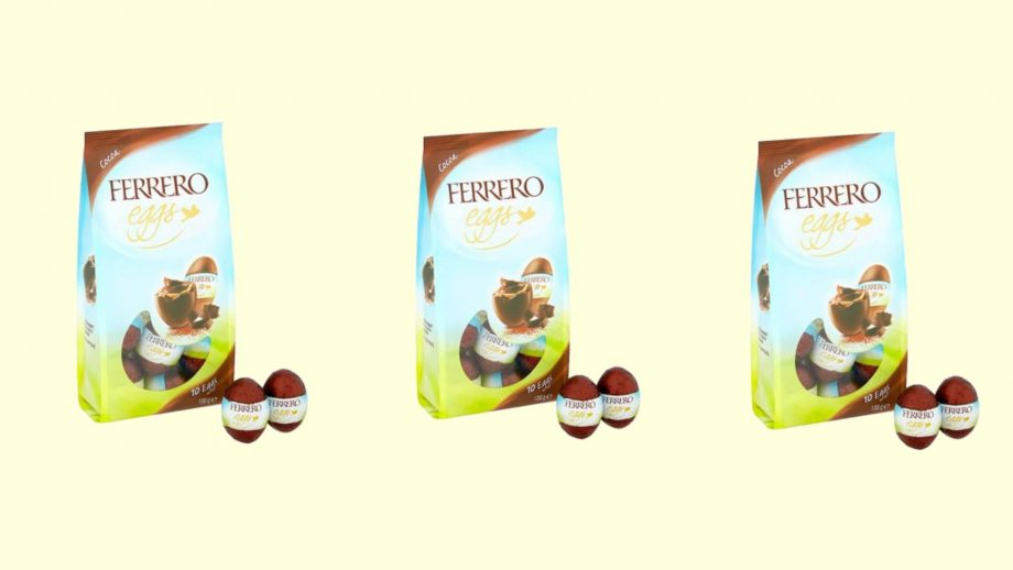 Ferrero Rocher mini eggs exist and it's a yes from us
