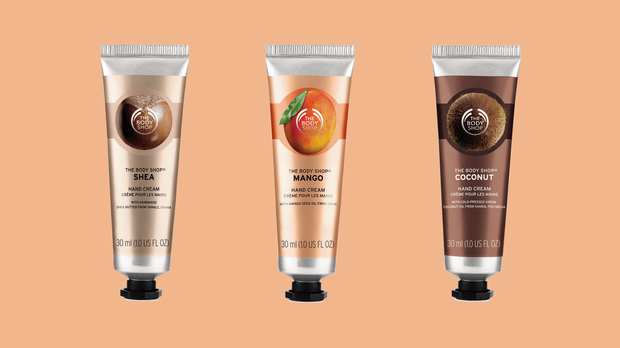 Free Hand Cream By The Body Shop With The April Issue Of Marie ...