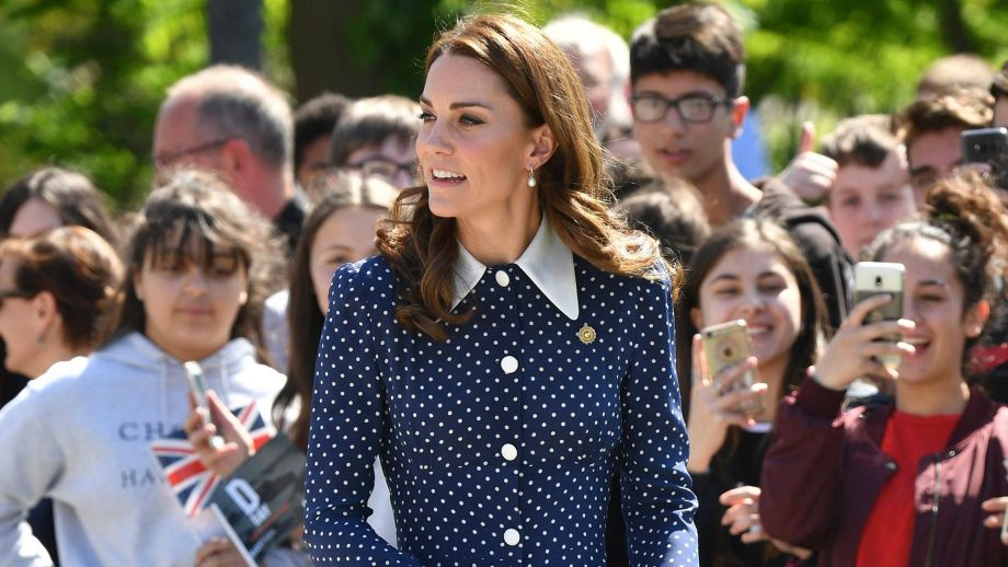 The poignant detail you missed from Kate's polka dot dress