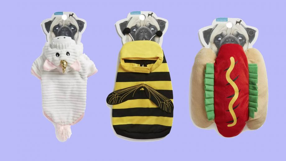 Primark's new petwear line includes hot dog and unicorn outfits and we're sold