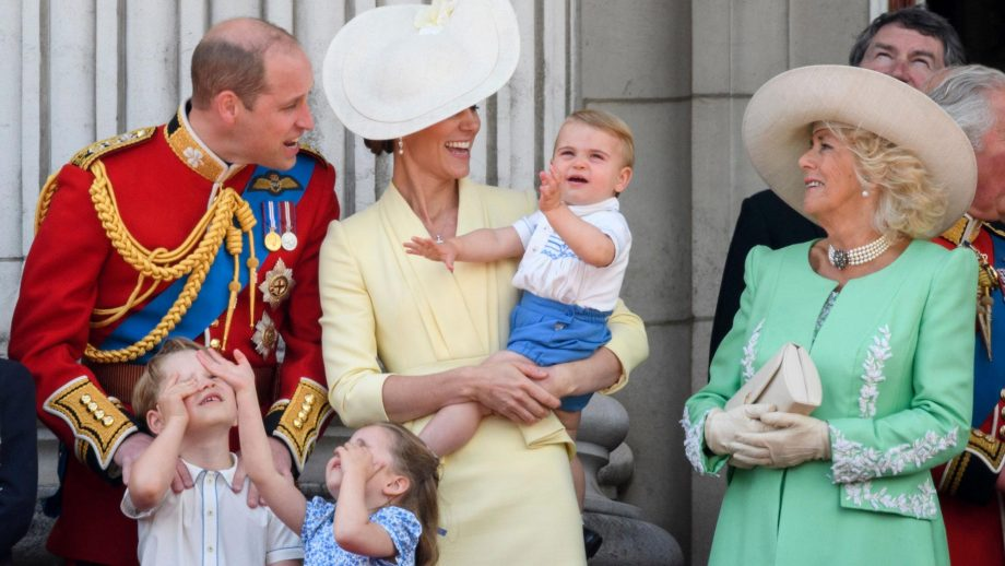 Prince Louis borrowed an outfit from Prince Harry for Trooping the Colour