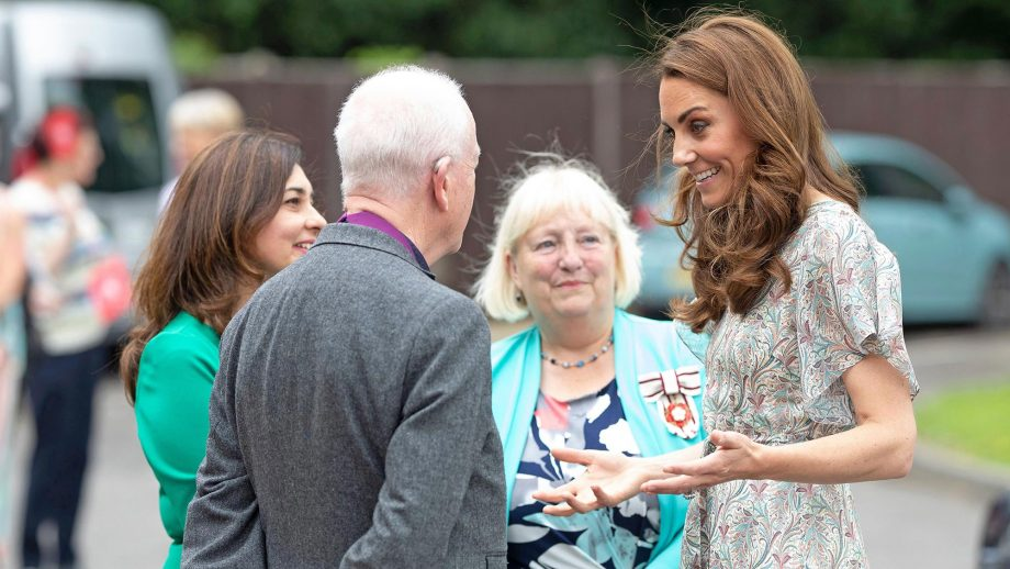 Kate Middleton just wore one of the biggest trends of the season