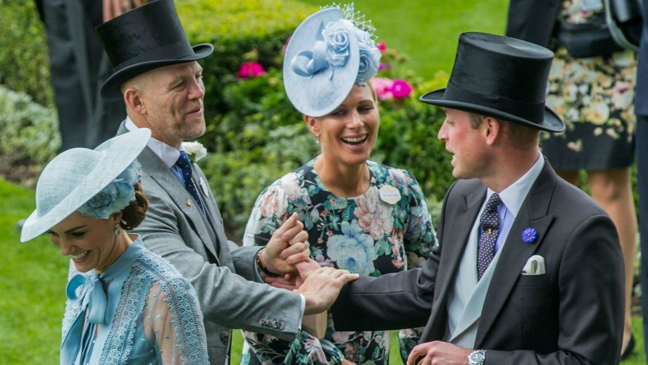 This video of Mike Tindall pranking the Queen is going viral
