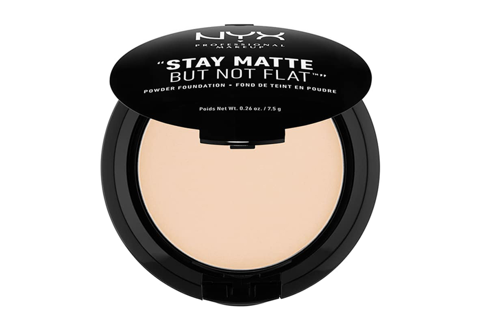 best drugstore foundation powder NYX