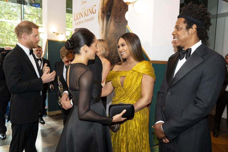 Meghan Markle meeting Beyoncé is the best thing you'll see today