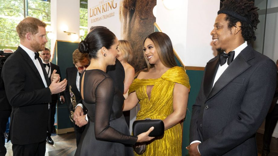 This is what Meghan Markle said to Beyoncé when they met this weekend
