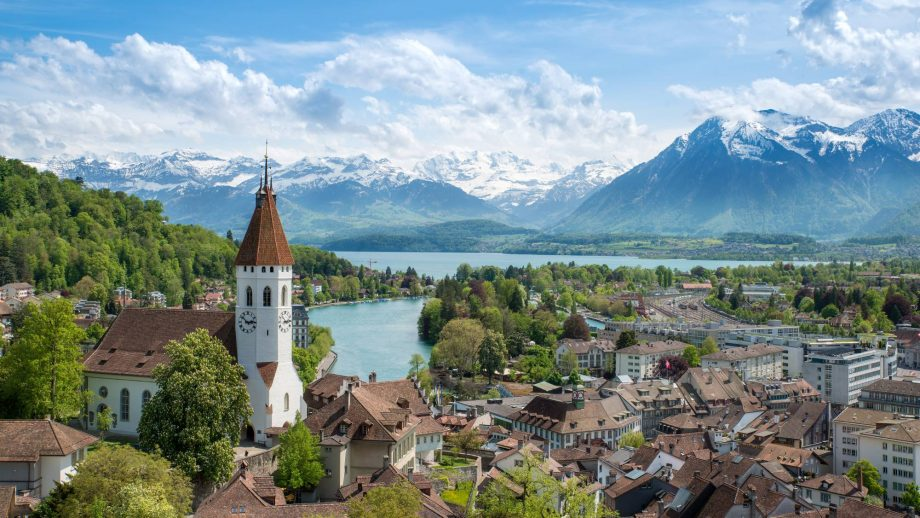 This town in Switzerland is selling houses for 81p so we're off