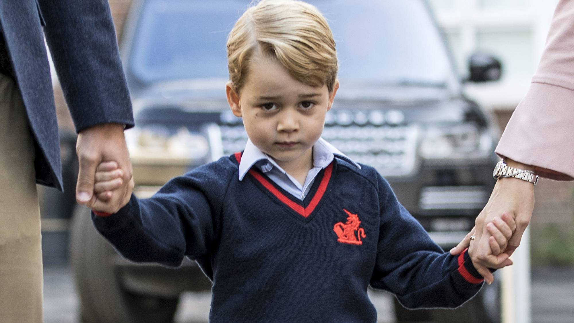 Prince George completely embarrassed Prince Harry in front of the Obamas