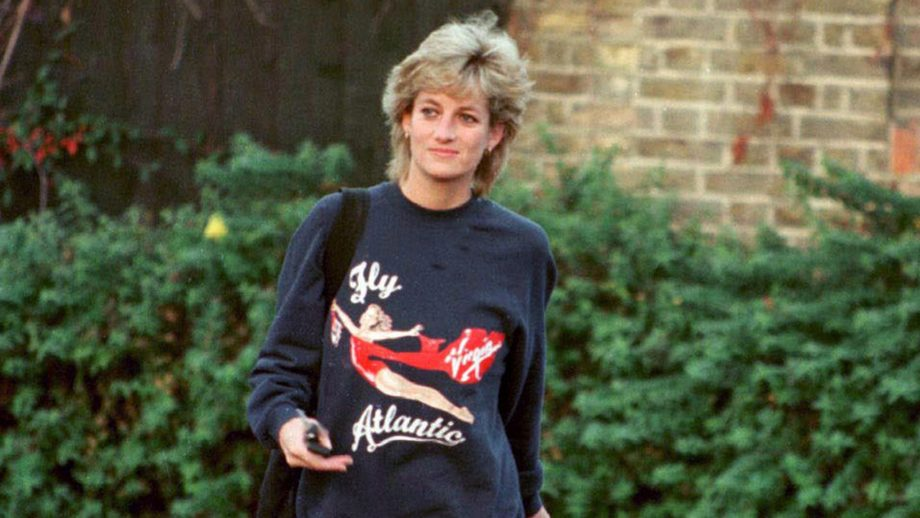 Princess Diana always wore this sweatshirt to the gym for this reason