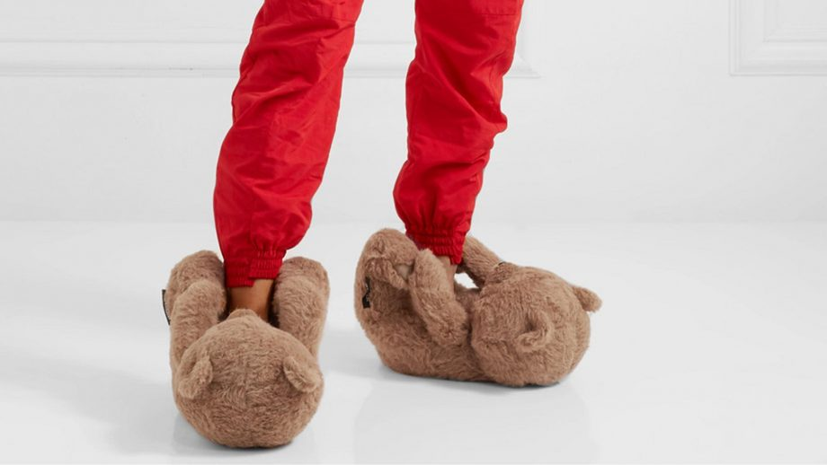 Your childhood slippers just got a high fashion makeover