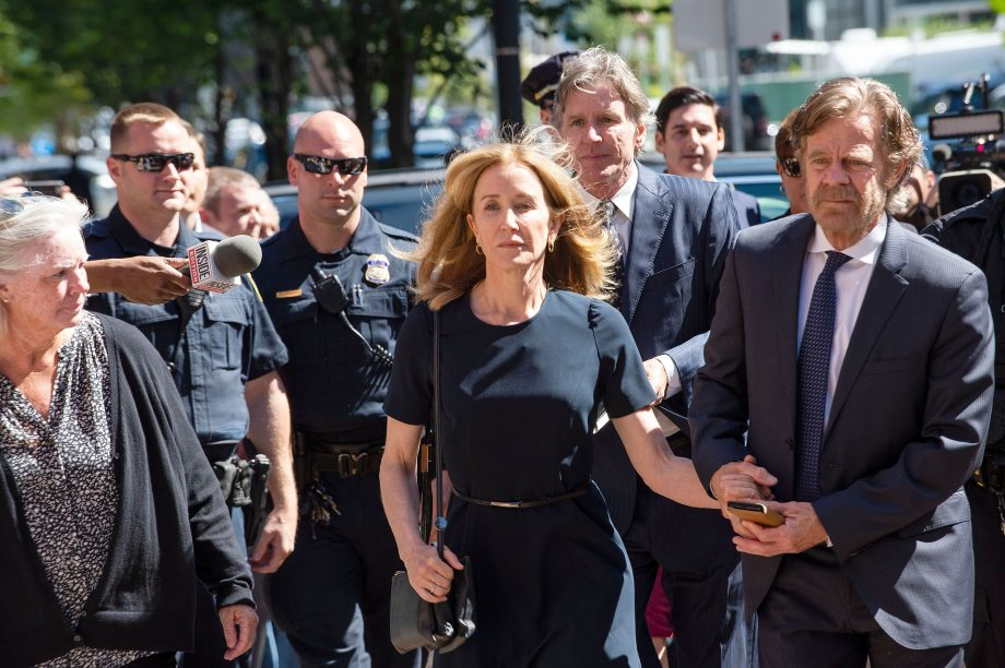 Felicity Huffman's college admissions scandal prison sentence is proving controversial