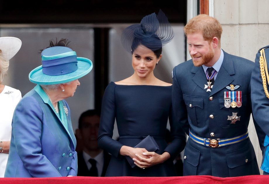 People are no longer allowed to ask the Queen about Prince Harry and Meghan Markle