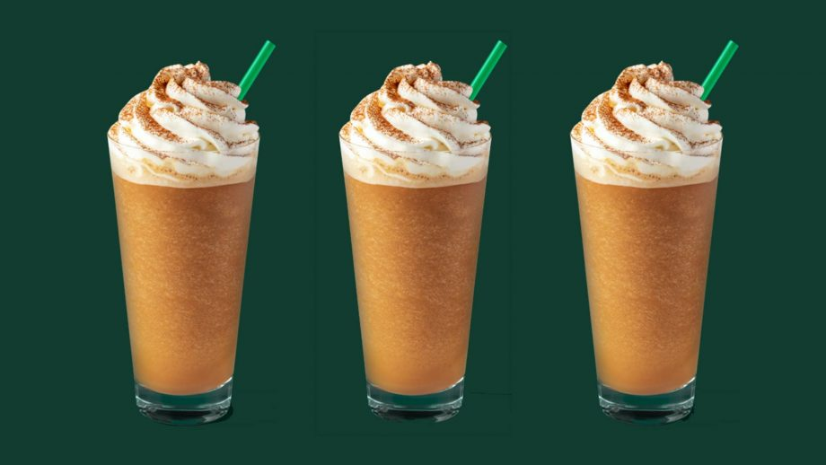 The Starbucks Autumn Menu Is Back And We Are So Ready