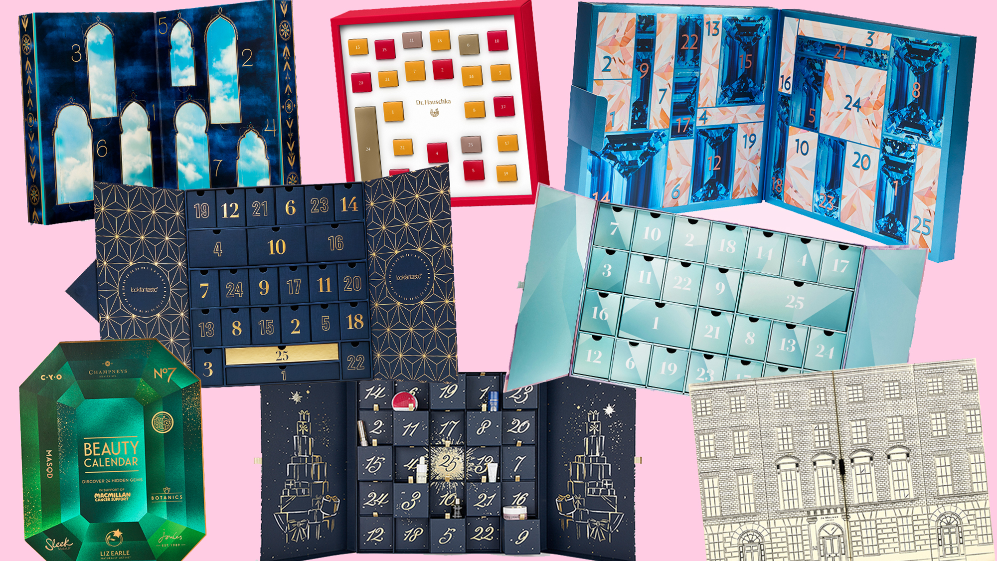 Beauty advent calendars we're *beyond* excited about this year