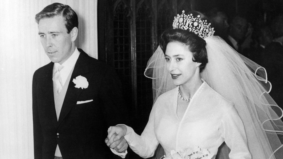 Princess Margaret broke the fashion rules on her wedding day