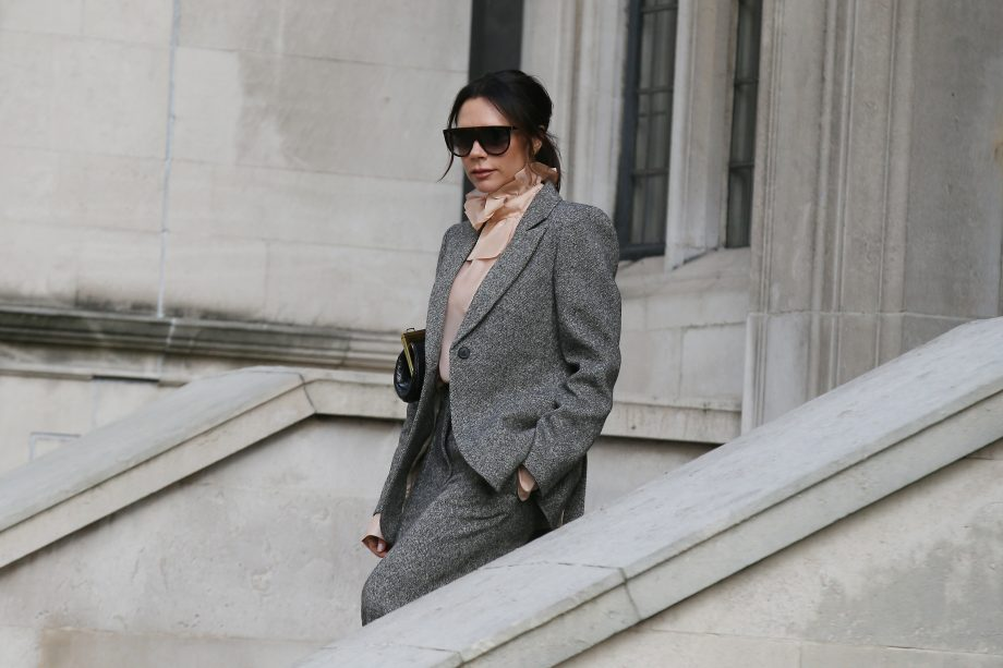 Victoria Beckham has opened up about coping with stress