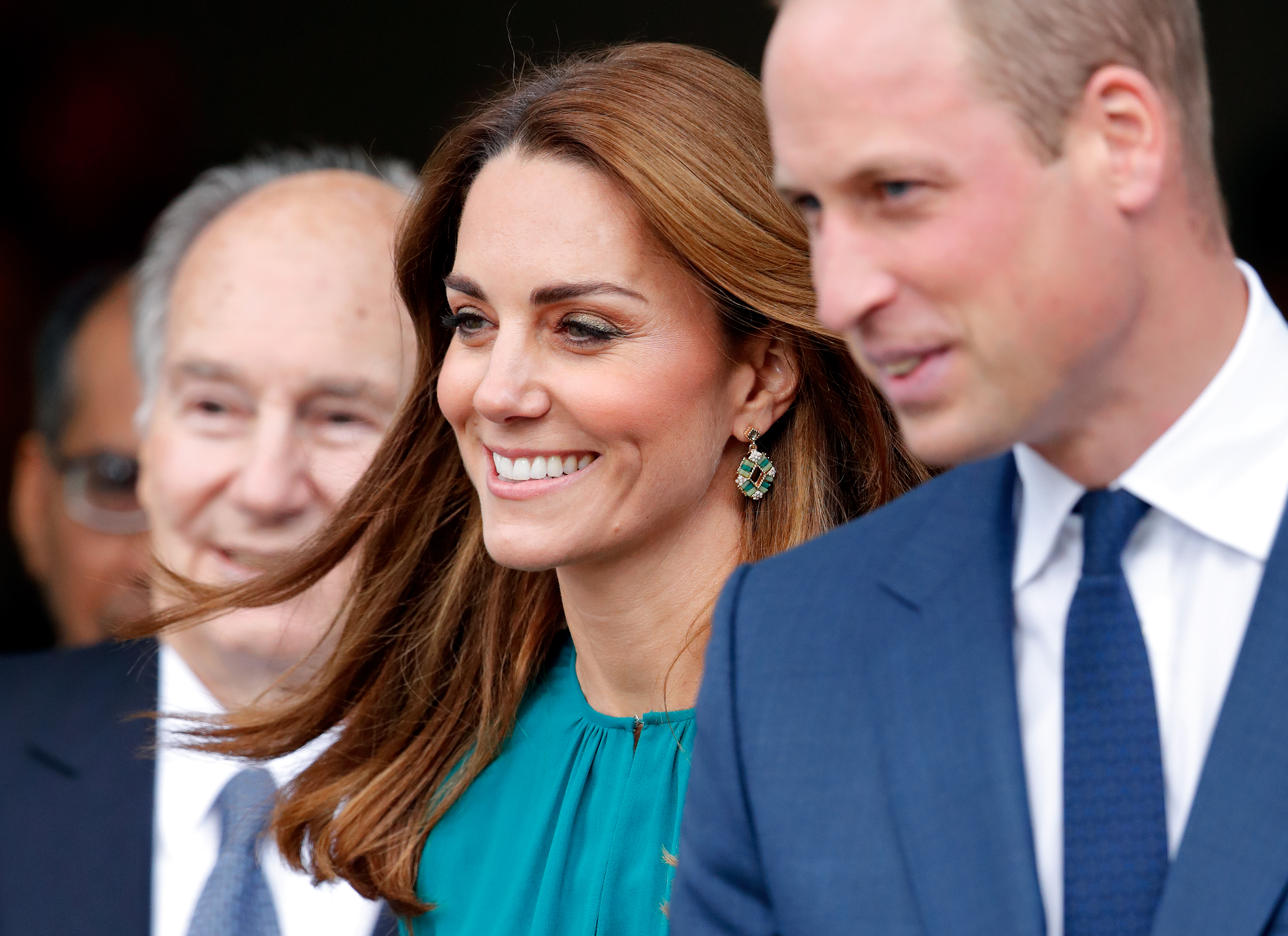 Prince William and Kate Middleton have released behind the scenes photos ahead of their tour