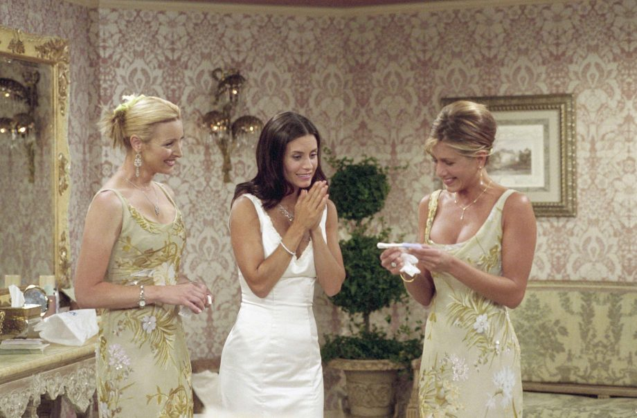 Female writers apparently tried to axe this 'sexist' Friends storyline
