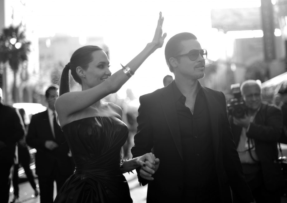 Brad Pitt and Angelina Jolie can't decide how to divide their castle