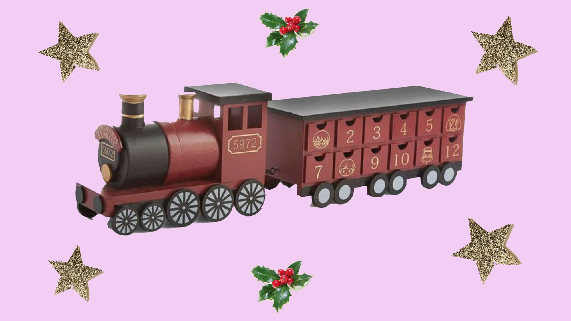 A Harry Potter Hogwarts train advent calendar is here and it looks magical