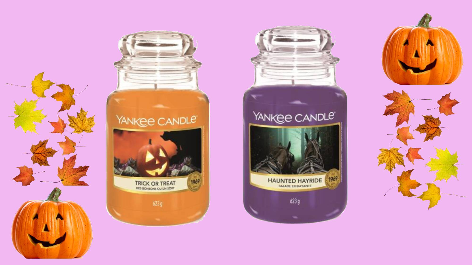 Yankee Candle's special Halloween collection sounds ghoul-orious
