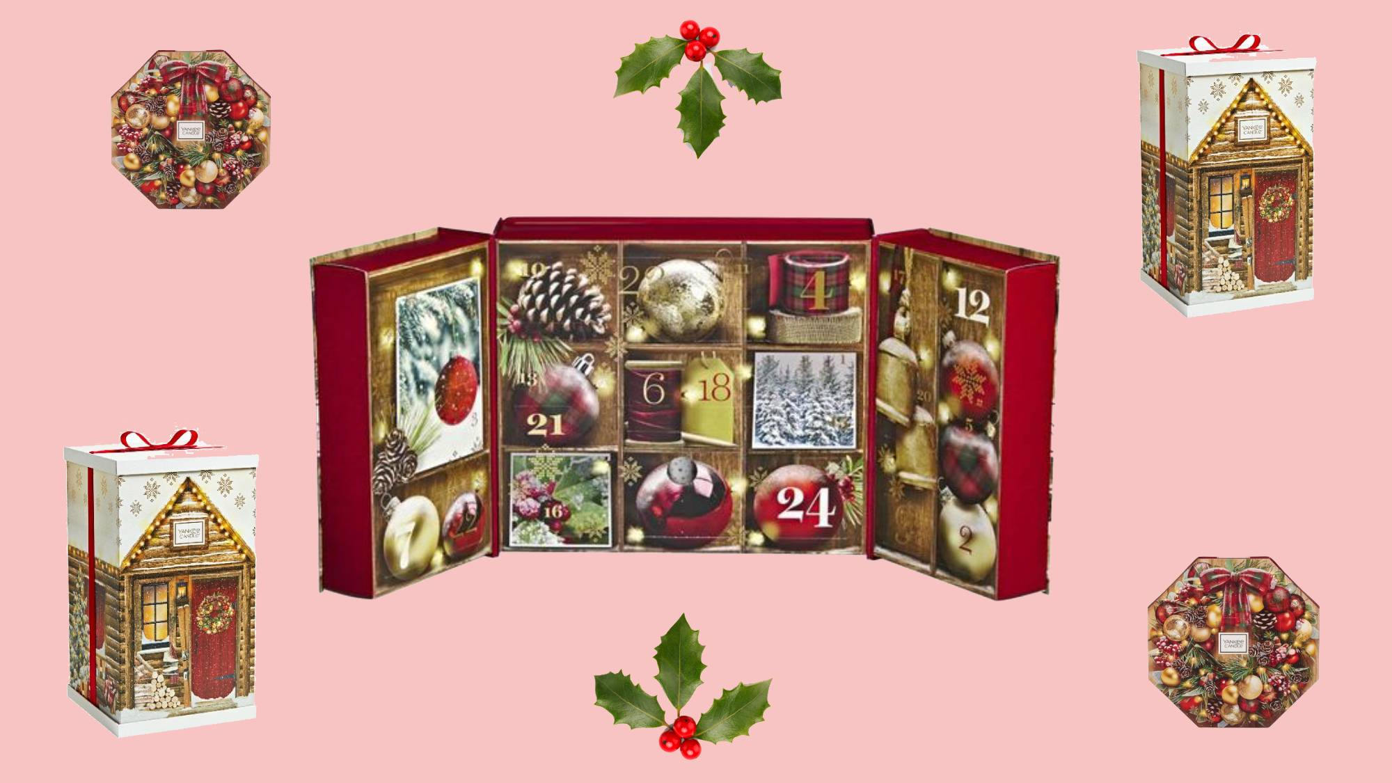 The Yankee Candle advent calendars are here and obviously they're a dream