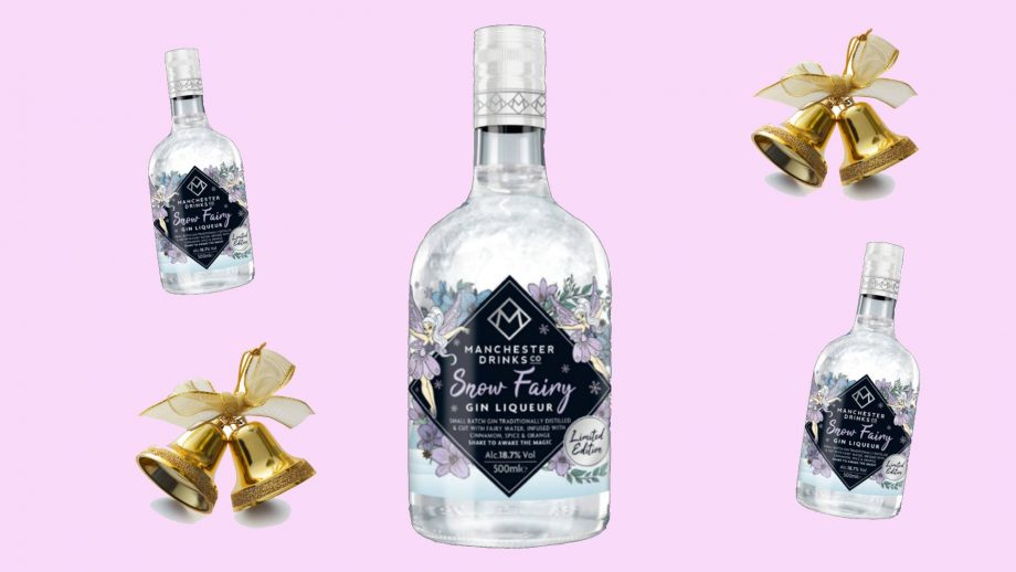 sparkly christmas gin