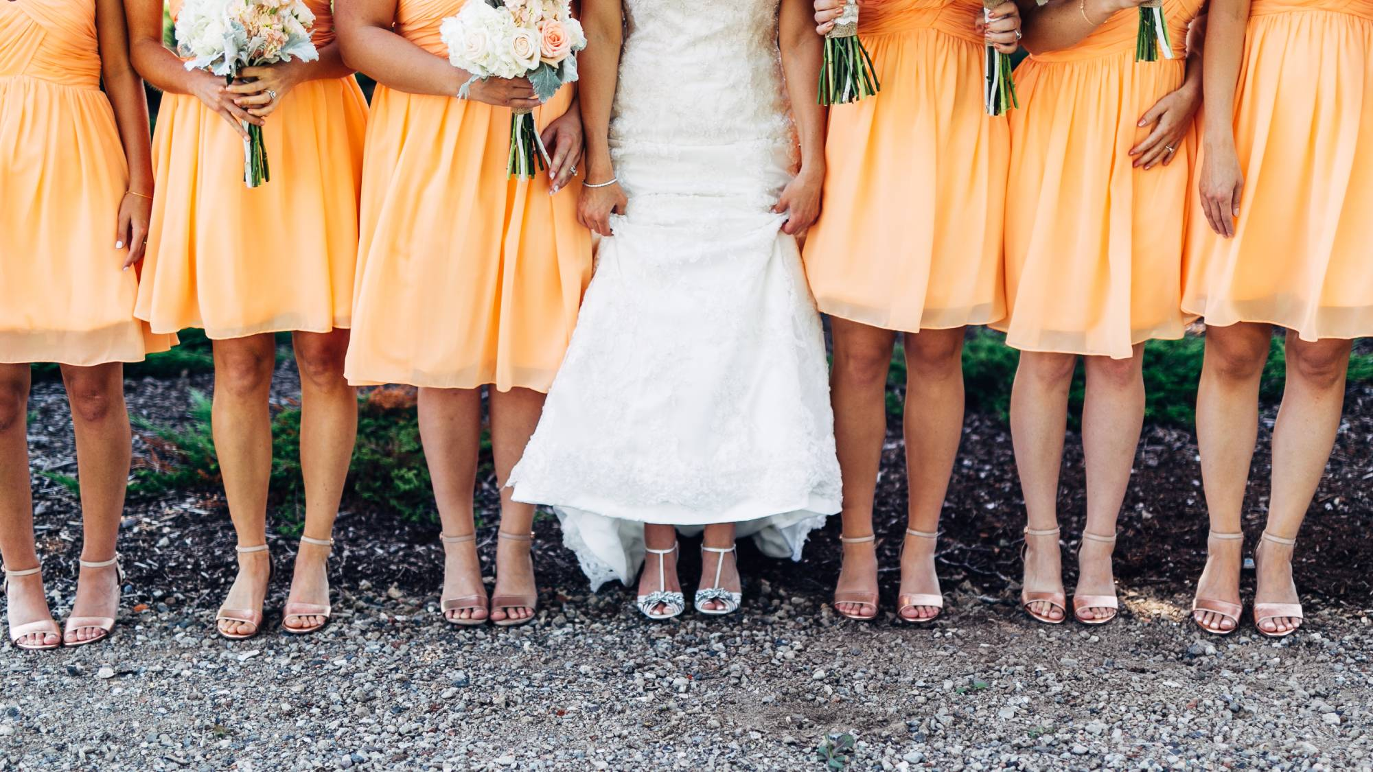 Bridesmaid dresses are likely to follow this colour trend in 2020