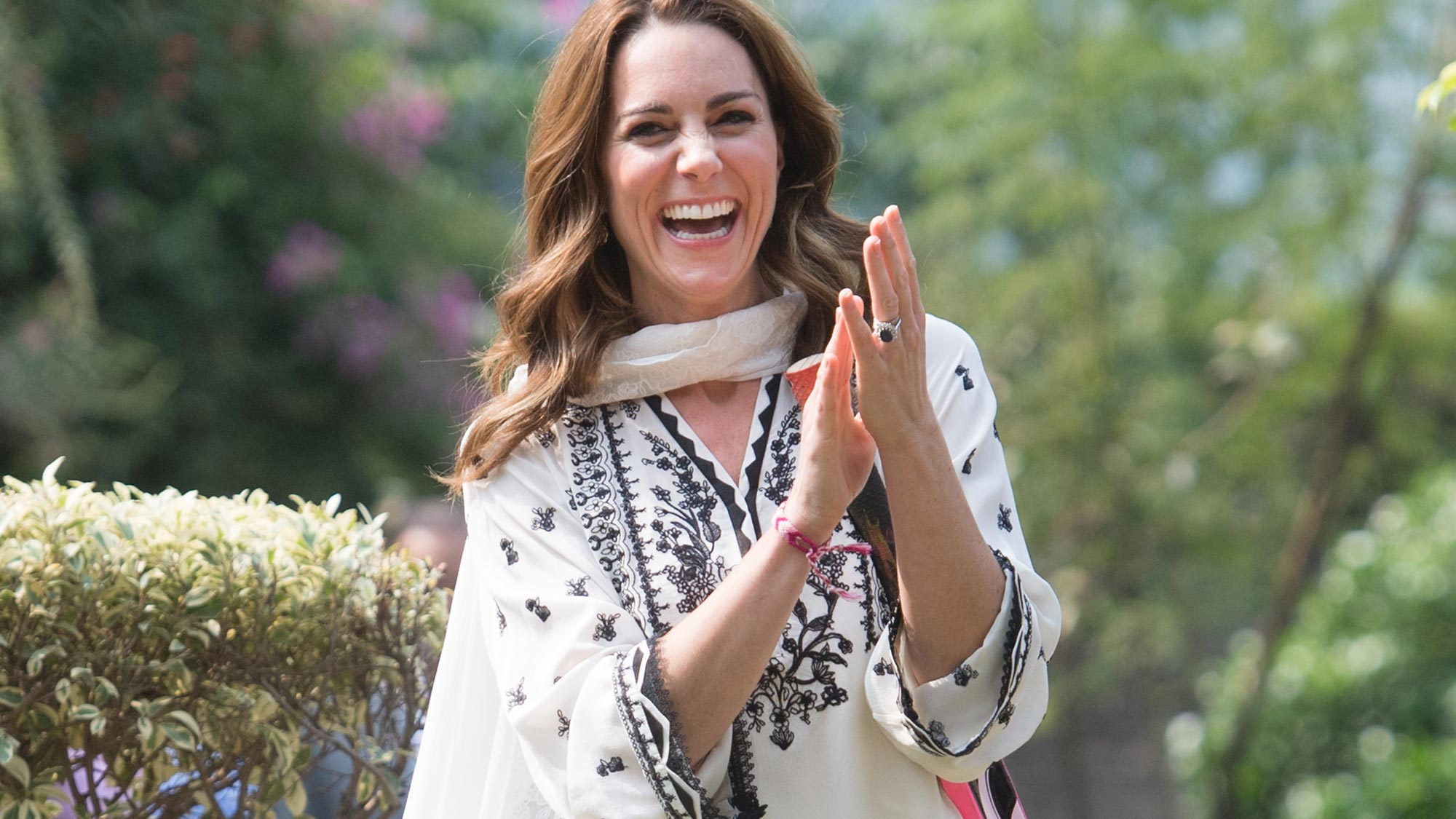 Kate Middleton secretly wore this Ghost dress on tour