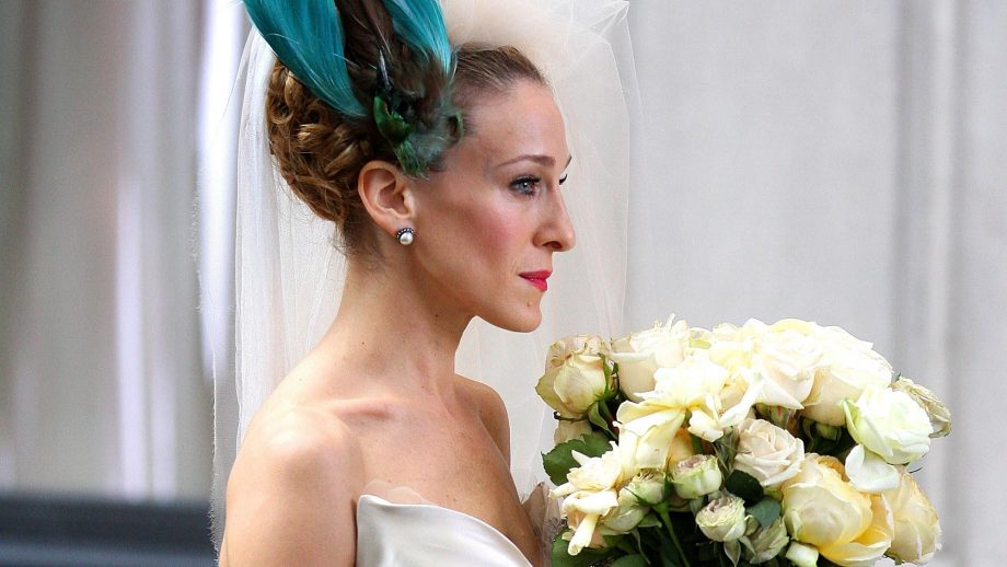 The wedding dresses that never made it into the SATC movie