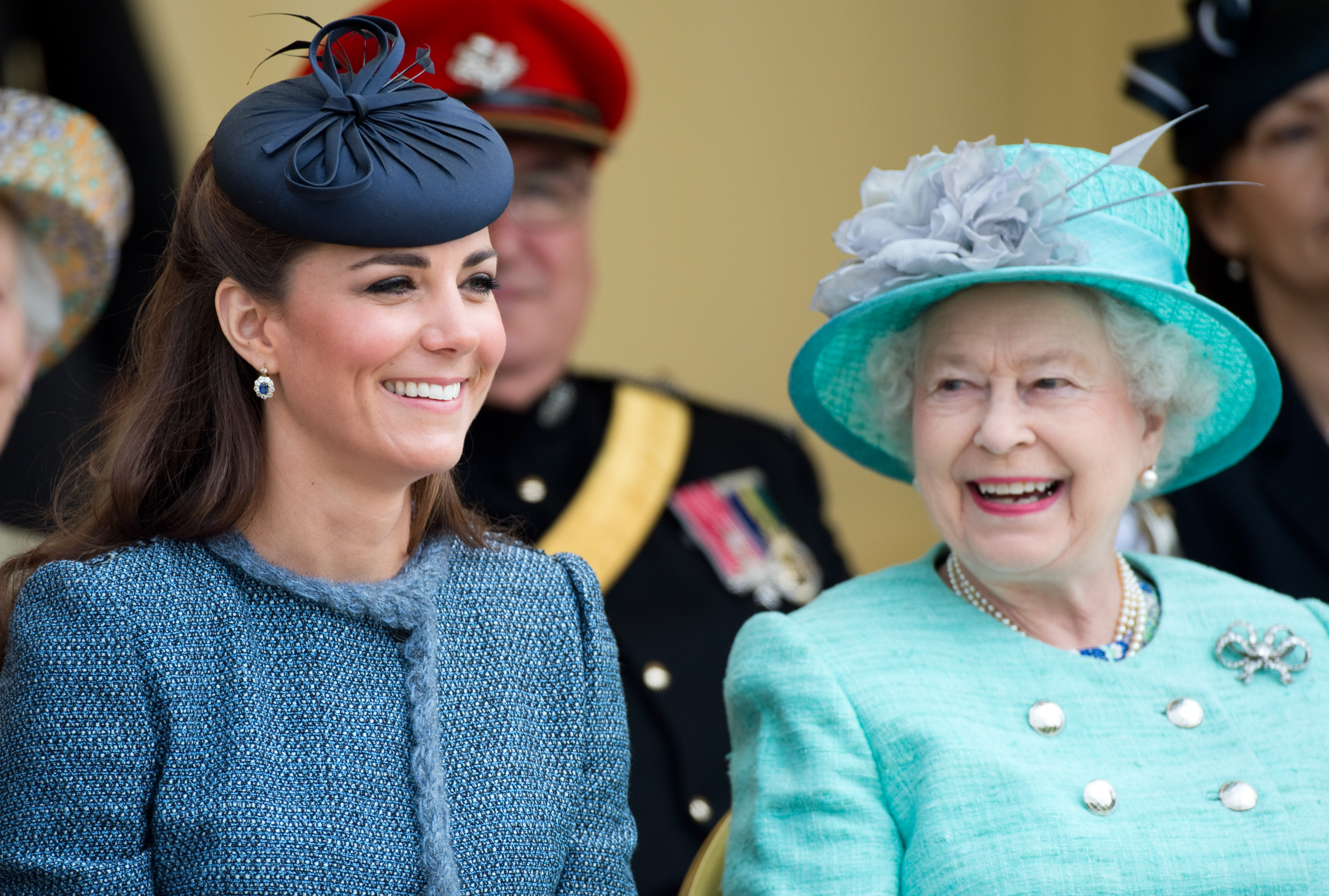 Experts claim that 'unflappable' Kate Middleton is very popular with the Queen right now