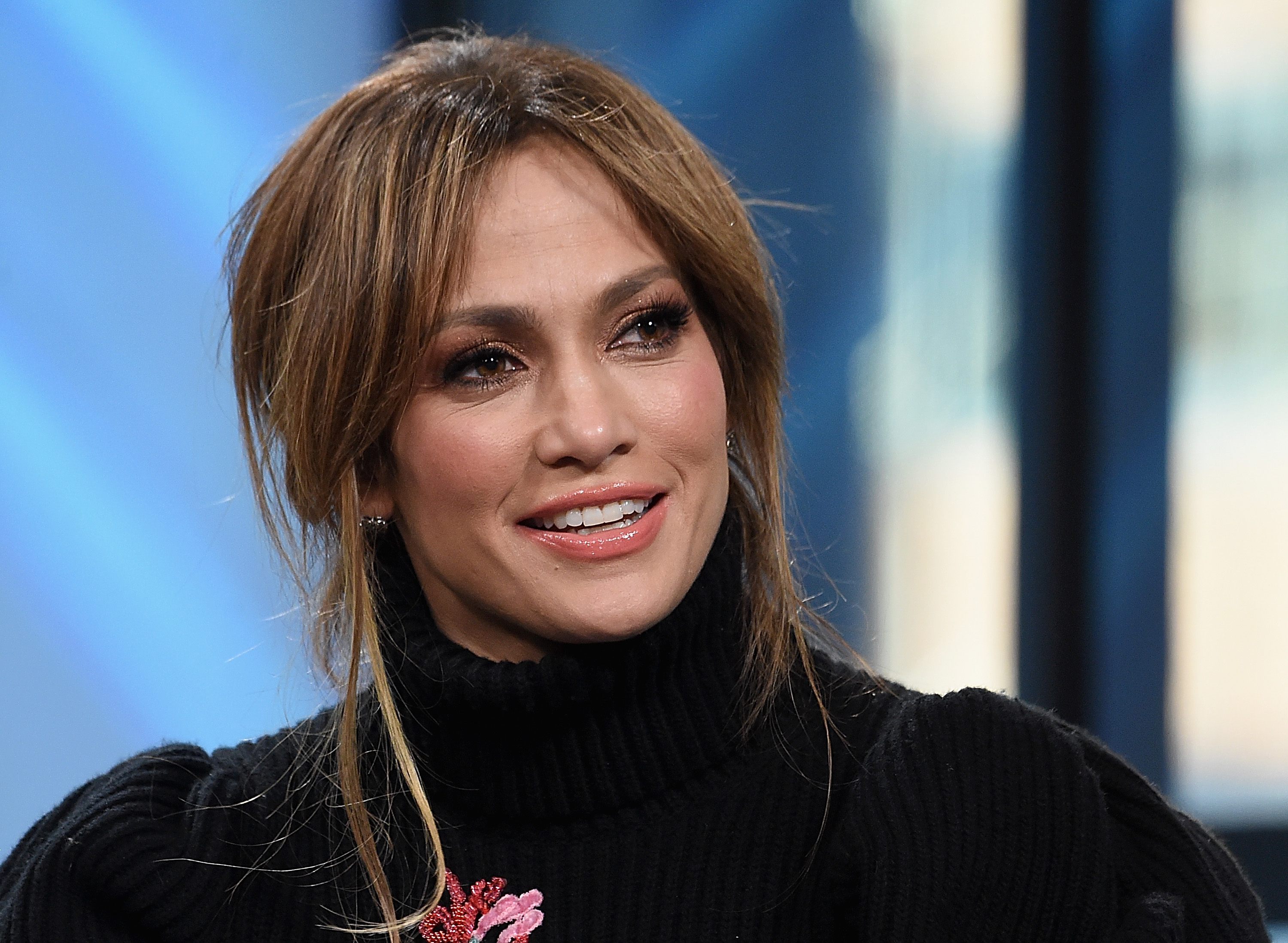 Jennifer Lopez's reaction to a director telling her to take her top off is going viral