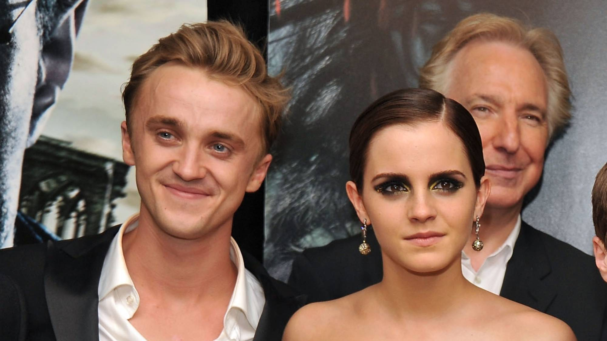 Rupert Grint says that Emma Watson and Tom Felton had a 'spark' during their Harry Potter days