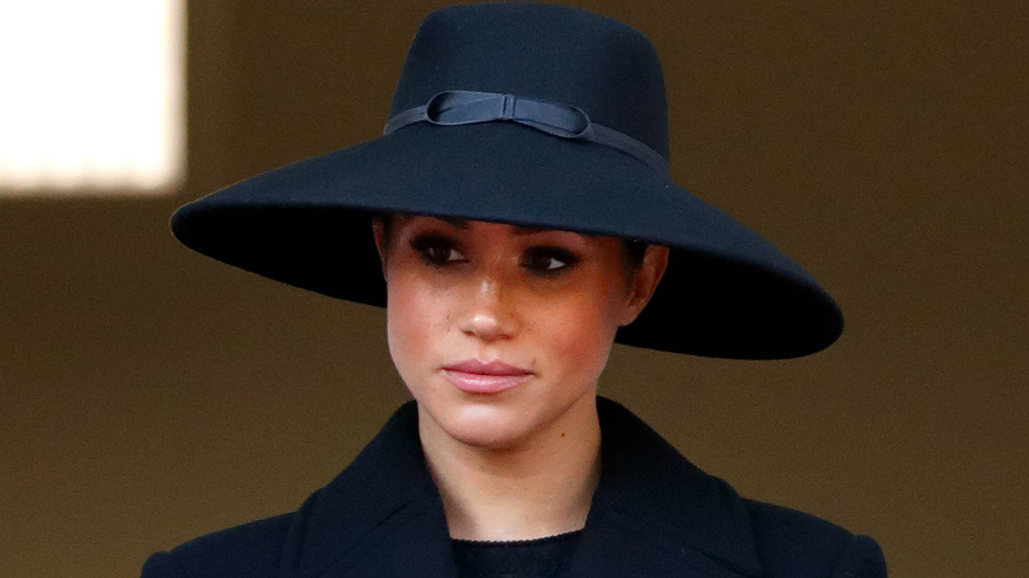 Why Meghan was on a different balcony at the Remembrance Sunday service