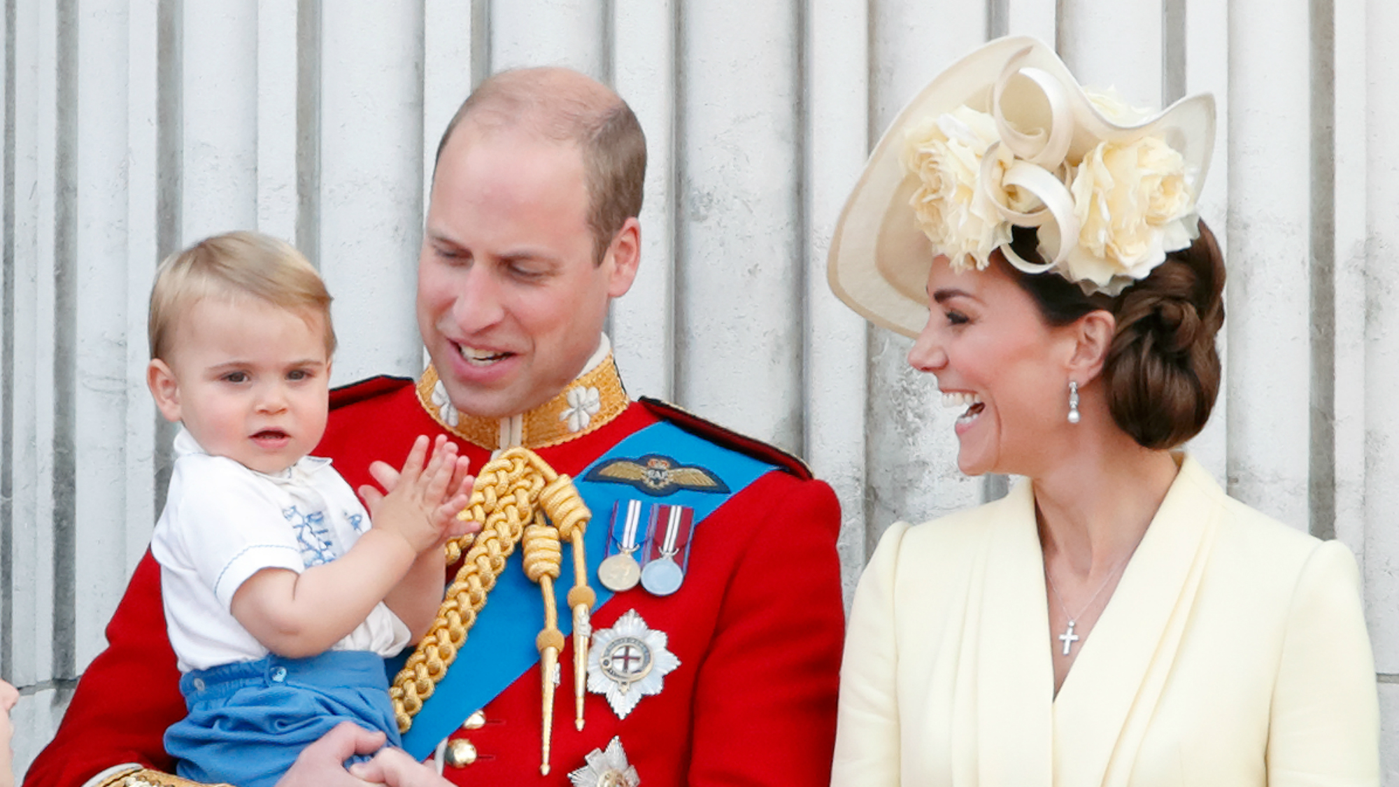 A new photograph of Kate Middleton and baby Louis is utterly adorable