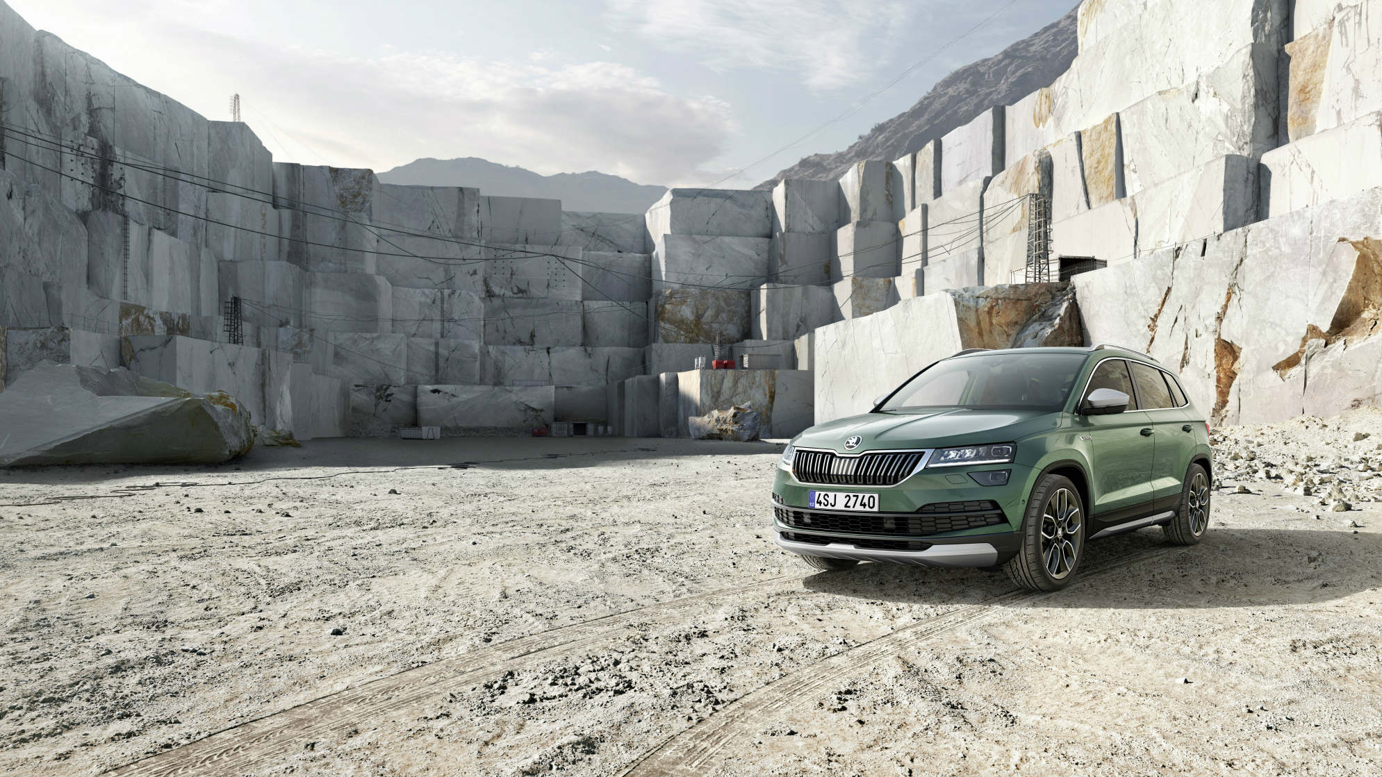 The new Skoda Karoq is taking up some serious space in the SUV car game